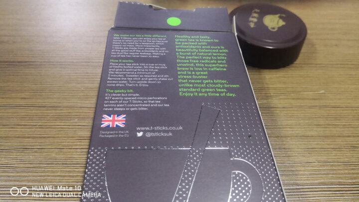 比利时进口 绨斯珂(T-Sticks)柠檬味绿茶茶棒 Zen Green & Lemon 15支装 晒单图