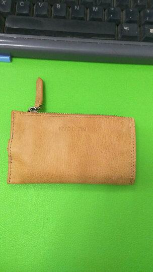 稻草人(MEXICAN)钥匙包 时尚休闲迷你款式钱包证件包牛皮质感卡包MHI20155M-07土黄 晒单图