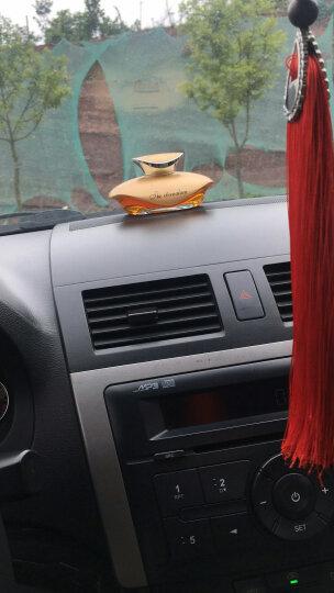 车游者 汽车香水座 车载香水摆件 车内用香水补充液汽车挂件饰品 金色-古龙味(新款) 晒单图