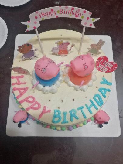 网红创意生日蛋糕儿童卡通同城配送女孩男孩朗熊佩奇白雪奥特预定订做北京全国当日送达 天空之城旋转木马蛋糕 8英寸(2磅 乳脂奶油) 晒单图
