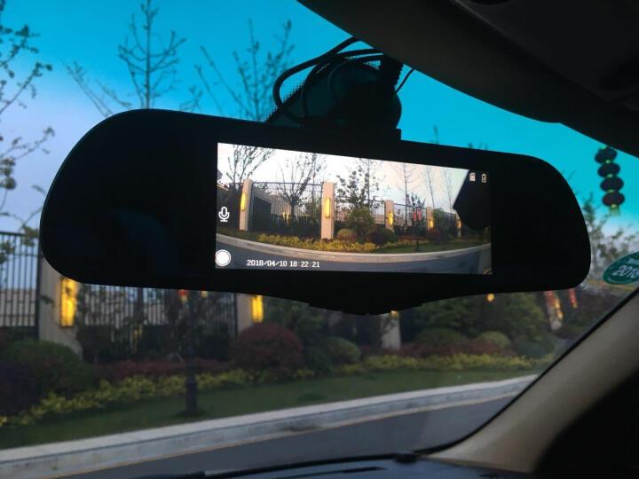 凌度 智能行车记录仪高清夜视双镜头前后录像倒车影像一体机 导航仪带电子狗后视云镜 8吋导航语音声控+微信蓝牙+32G(套餐六) 晒单图