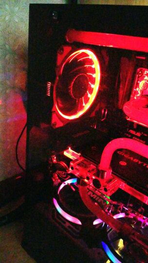乔思伯(JONSBO)FR-101炫光红 12CM机箱风扇(引擎涡轮扇叶/红色LED/主板3PIN接口+电源D型口接口) 晒单图