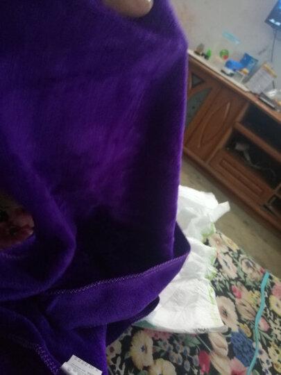 奥吉龙 洗车毛巾擦车布专用加厚吸水不掉毛大小号多功能刷车巾紫色小毛巾三条装 晒单图