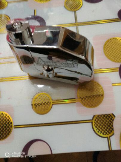 安途ANTRIP摩托车防盗报警碟刹锁自行车碟锁山地车锁电动锁防盗防水报警器送便携锁包和电池 锌合金梅花锁芯7MM 银 晒单图