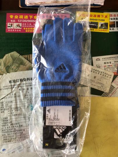 阿迪达斯手套 2016冬季新款男女训练保暖耐磨手套 AY4888 AY4887 B46135 M 晒单图