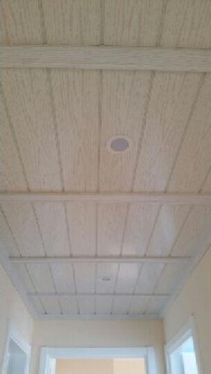 雅巢 集成吊顶厨房厕所客厅抗油污欧式仿木铝扣板天花造型材料送龙骨配件 白橡木纹 宽度15cm 长度60cm 晒单图