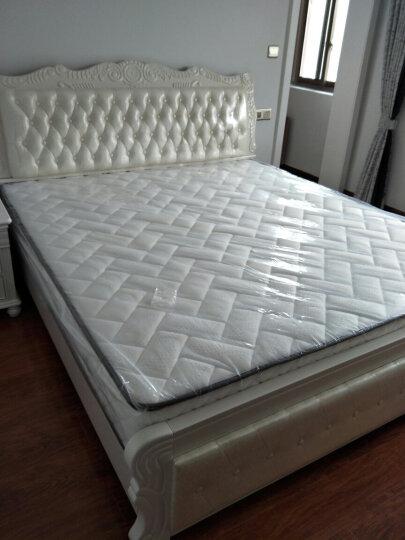 林中漫步床 全实木床 1.8米双人床小美式床 白蜡木床 1.5米储物高箱原木床 气压高箱床 1.5*1.9(金釉色) 晒单图