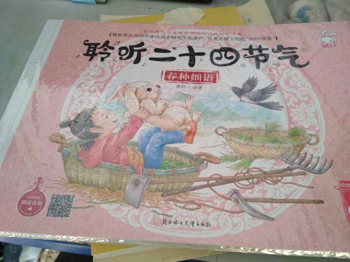 这就是二十四节气全4册 中国传统节日绘本故事书3-6岁 幼儿自然科普百科儿童图书小学生读物 晒单图