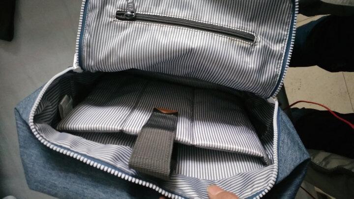 CAT卡特双肩包休闲运动学生书包潮流时尚书包大容量休闲运动包 蓝色 晒单图