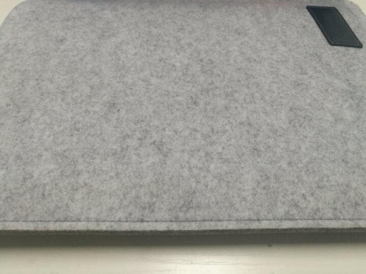 ACE COAT 苹果Air电脑包mac Pro内胆包防摔毛毡包Macbook保护套布袋 随行系列 浅灰 Mac Air 13.3英寸 晒单图