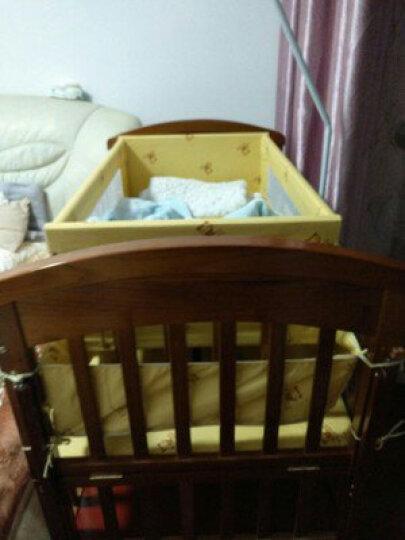 【好店认证】婴儿床 实木儿童多功能摇篮床新生儿宝宝游戏床 晒单图