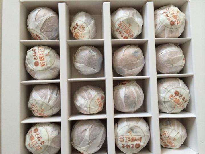 艺福堂 茶叶 红茶 云南古树滇红柠檬红茶 小柠红礼盒装150g 晒单图