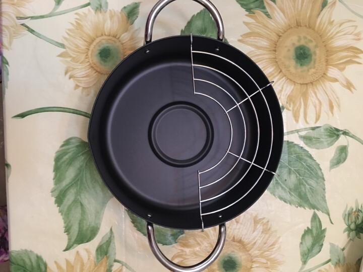 嘉士厨日式天妇罗油炸锅专用锅家用小炸锅含滤油架电磁炉通用20cm 晒单图