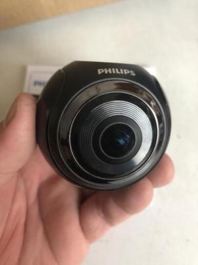 飞利浦(PHILIP) 飞利浦行车记录仪全景360度高清夜视双镜头迷你隐藏ADR920新品 黑色 官方标配+内存卡32G 晒单图