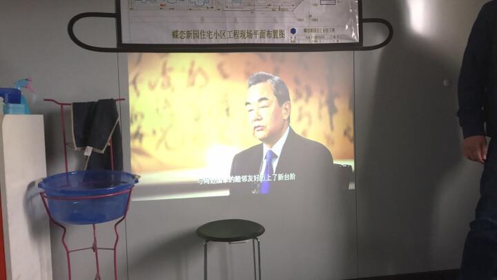 葩葩 (papa)light 凯撒影院  智能投影仪 家用高清便携电视手机投影机 黑色 晒单图