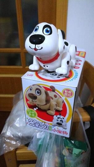 KO SHENG 智能玩具狗 电动机器狗儿童仿真玩具狗会走路唱歌跳舞1-3岁宝宝玩具六一儿童礼物 晒单图