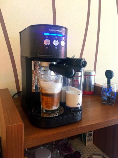 摩飞(Morphyrichards)MR7008T花式咖啡机 意式浓缩家用商用办公室咖啡机 全自动打奶泡 晒单图