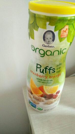 嘉宝(Gerber ) 婴幼儿辅食 宝宝零食 有机星星泡芙 蔓越莓甜橙味 三段(8个月以上) 42g 美国进口 晒单图