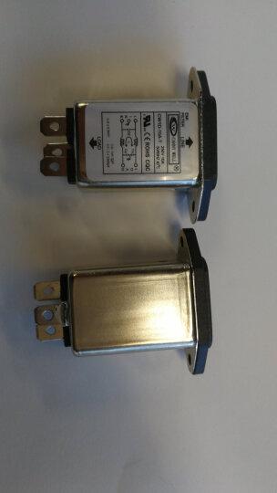 云野 EMI插座式电源滤波器 EMI电源滤波器CW1D CW1D-6A-T大边 晒单图