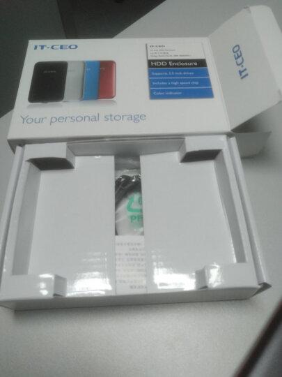 IT-CEO W802S 双盘位2.5英寸USB3.1磁盘阵列盒阵列柜 Type-C移动硬盘盒外置盒子 SATA/SSD固态硬盘座 黑 晒单图