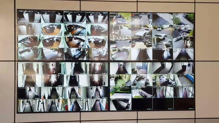 康普瑞液晶拼接屏 拼接电视墙安防视频监控LED液晶 窄边拼接图像显示器商用拼接大屏无缝拼屏三星LG 40英寸8mm拼缝 晒单图