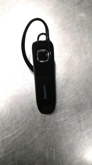 UCOMX U2 蓝牙耳机超长待机防水无线商务迷你车载运动挂耳式适用于苹果7OPPO 白色 晒单图