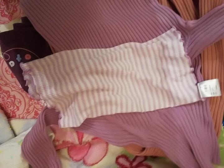 千趣会 BABY婴儿男女双层护肚围小物两色组GITA A75812 粉红色/紫罗兰色 19*16 晒单图