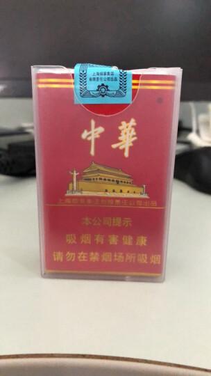 sdin烟盒保护套20支装整包软盒男士创意烟盒个性透明软烟套子防汗防压软壳送男朋友礼物定制 彩盒包装10个 晒单图