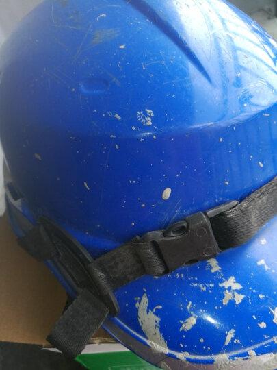 代尔塔旗舰店 ABS材质带荧光条反光条 工地工程 绝缘安全帽 电工 防撞耐高温102018 橙色 晒单图