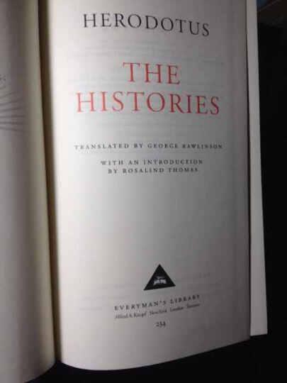 The Histories 晒单图