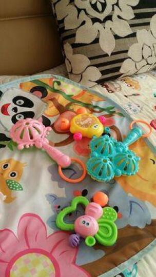 婴幼儿摇铃3-6-12个月宝宝早教益智儿童手摇铃男女婴儿玩具 9件套+音乐早教电话机+拨浪鼓+球 晒单图
