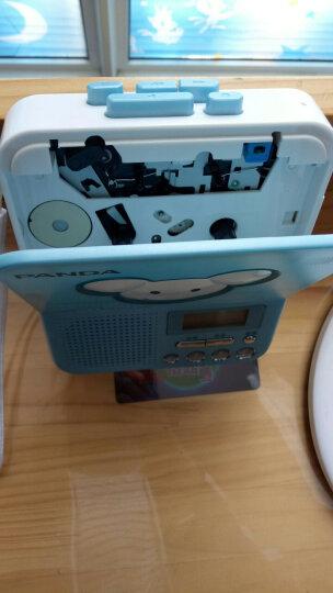 熊猫(PANDA) F-322英语复读机磁带学生录音机学习机随身听 蓝色 晒单图