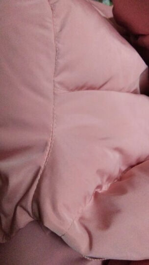 迪拉娜2017棉服女短款秋冬装新款韩版棉衣外套原宿连帽面包服加厚保暖棉袄 黑色 M 晒单图