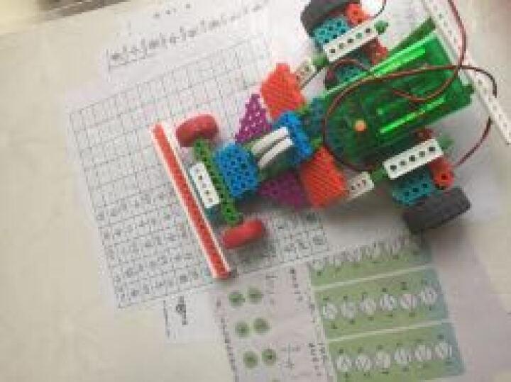 韩端 拼装积木玩具 4-7岁遥控益智玩具 188粒小颗粒积木机器人(4种造型)玩具 晒单图