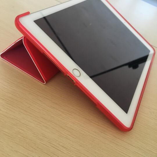 VALK ipad2018保护套9.7寸 苹果平板电脑保护套 ipad保护壳2017  三折支架一体香槟色 晒单图