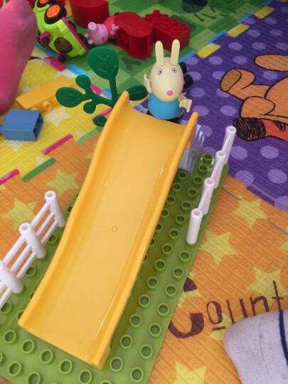 电子积木6-18岁物理电路百拼装儿童Stem实验益智玩具6688 6039 佩琪家豪华建筑-69颗粒2公仔 晒单图
