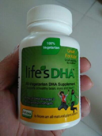 马泰克Life's DHA婴幼儿童孕妇dha海藻油软胶囊孕妇营养品dha婴幼儿减少产后抑郁 孕妇款60粒/瓶*1 晒单图