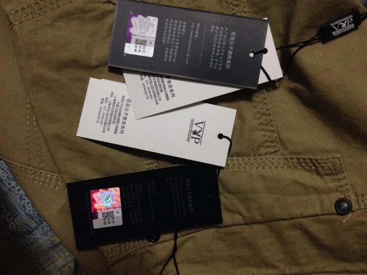 WUJIXIAN 休闲裤男2018短裤男棉五分裤大码男装沙滩裤休闲短裤男 A333米白 36码 腰围2尺9 晒单图