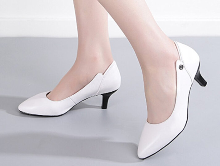【名品精选】品牌专柜款 手工定制牛皮休闲鞋拼色运动鞋男女款新品300 白色-定制款 39 晒单图