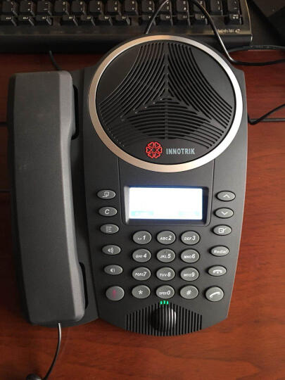 音络(INNOTRIK) 会议电话机/音视频会议系统终端/全向麦克风/八爪鱼电话会议机 PSTN-26桌面型电话会议 晒单图