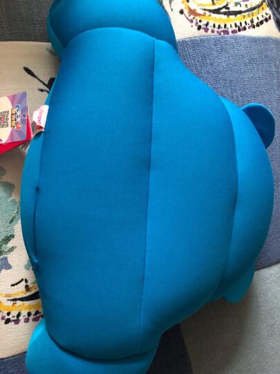 舒宠(sheepet)毛绒玩偶熊 护腰枕布艺 靠垫办公室 礼物包子熊猫公仔 小熊护腰枕 填充粒子 晒单图