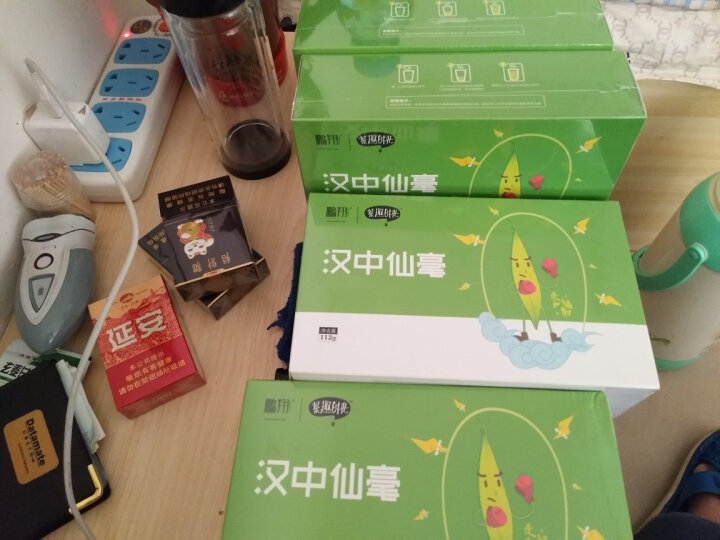 【2021新茶现货】鹏翔 绿茶汉中仙毫特级 陕西特产雀舌茶叶 汉中午子绿茶特级春茶茶趣112g 晒单图