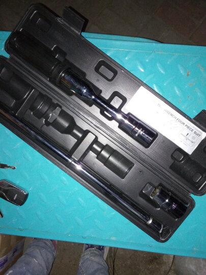 全美 汽车轮胎扳手 维修换胎工具 卸换轮胎 省力套筒扳手修车工具 十字扳手3件套 晒单图