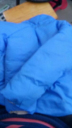 宾陆童装儿童羽绒服男女童宝宝冬装新款加厚连帽外套面包服可两面穿短款上衣 蓝色 100码 建议身高90cm以下 晒单图