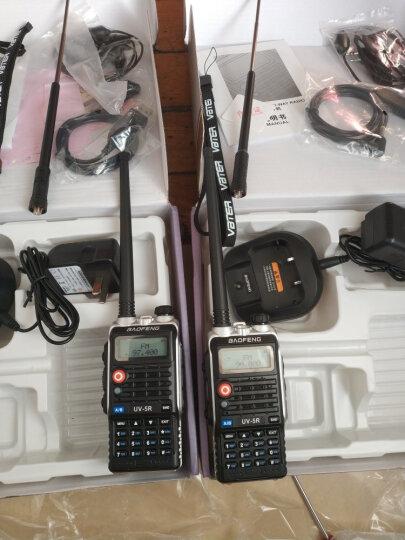 宝锋(BAOFENG) 宝锋(baofeng) BF-UV5R 对讲机无线户外自驾手台双频双段 四代 黑骑士 晒单图