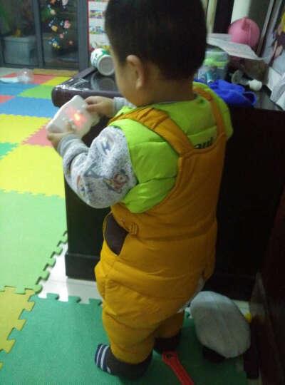 卡娃羽 男女儿童羽绒服套装 白鸭绒棉衣两件套冬季热卖 红色 100cm(100码推荐身高100-105) 晒单图