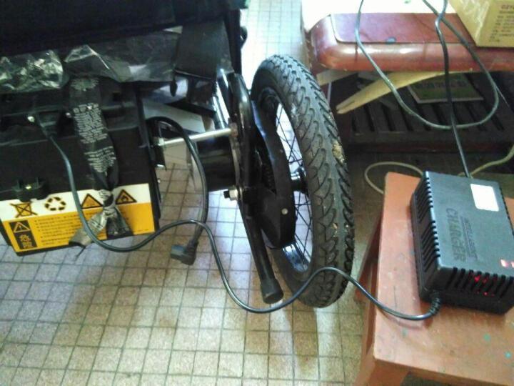 泰合 老人轮椅电动车代步车可折叠电动轮椅 TH101-48 晒单图