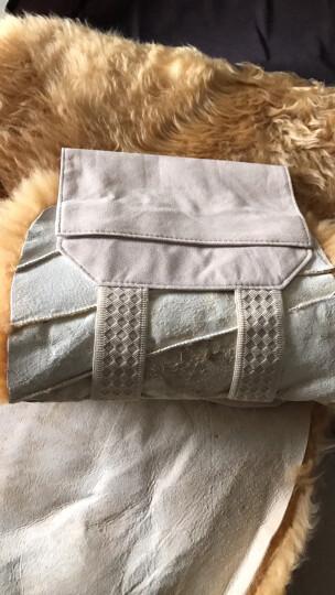 雷象(ELEKKS)冬季汽车坐垫 羊毛坐垫 全车汽车座垫 毛垫五件套 米色毛尖 晒单图