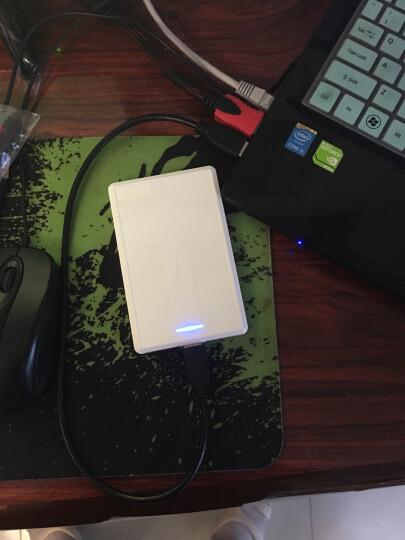 联想(Lenovo)1TB USB3.0 移动硬盘 F500 2.5英寸 象牙白 便携小巧耐用 时尚镜面处理 晒单图