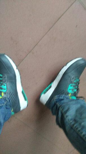 361度男鞋气垫减震运动鞋轻便耐磨休闲跑步鞋 N 11C深灰/薄荷糖 40 晒单图
